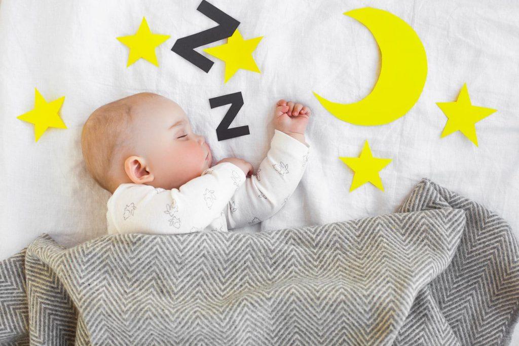 بی خوابی نوزاد و خواب روتین