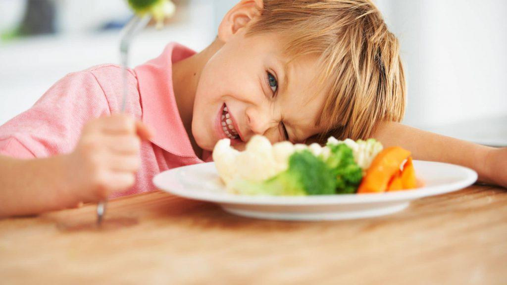 لجبازی کودک بد غذا
