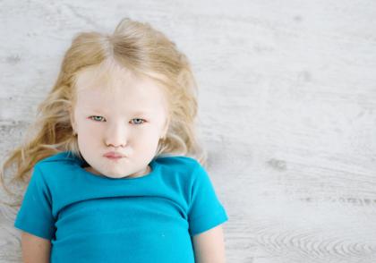 آرام کردن کودک بد خلق