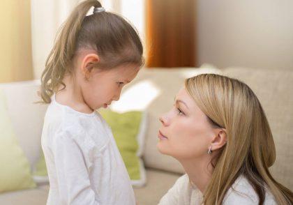نه گفتن کودک در 3 سالگی