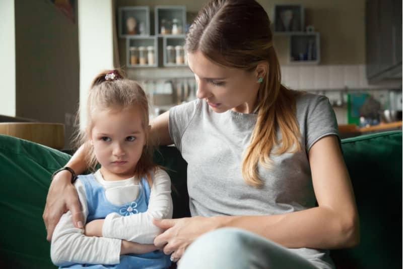 آرام کردن کودک بد اخلاق