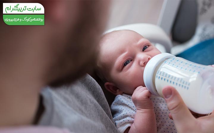 احساس گناه درباره شیر ندادن به نوزاد