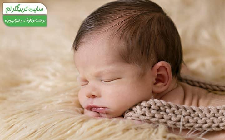 روتین خواب کودک سه ماهه