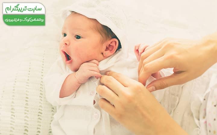 رشد حرکتی کودک در هفته یازدهم از رشد