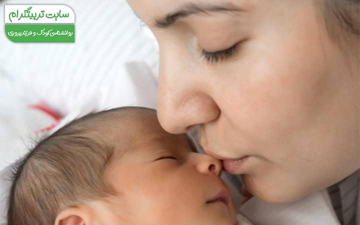 قوی شدن ارتباط مادر با فرزند