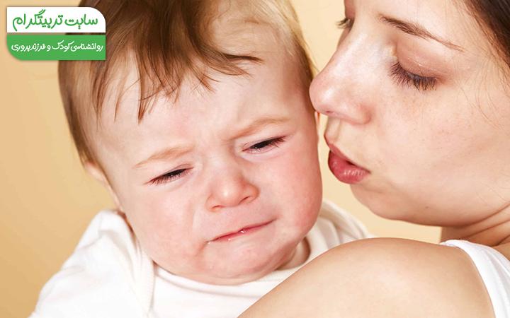 رفلاکس نوزاد در دو ماهگی