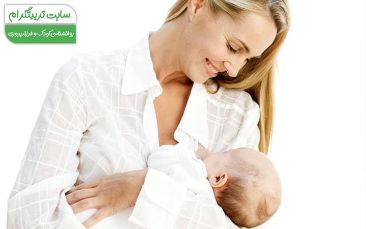 وضعیت بدنی مادر پس از تولد