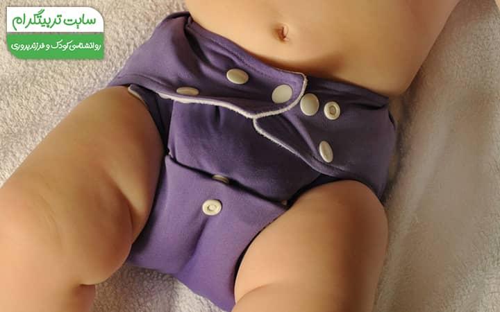 راه های مقابله با حساسیت به پوشک نوزاد