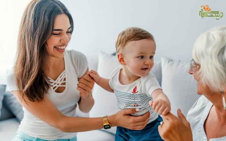استفاده از پرستار در هفته چهارم چهار ماهگی