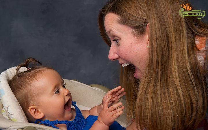قان و قون کردن نوزاد