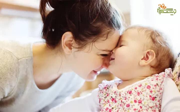 هفته اول پنج ماهگی نوزاد