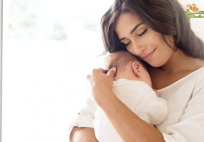 غریزه مادرانه در هفته اول هشت ماهگی