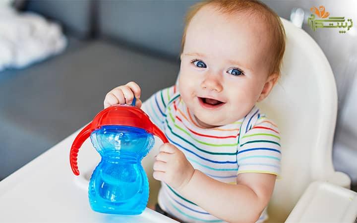 لیوان نی دار کودک