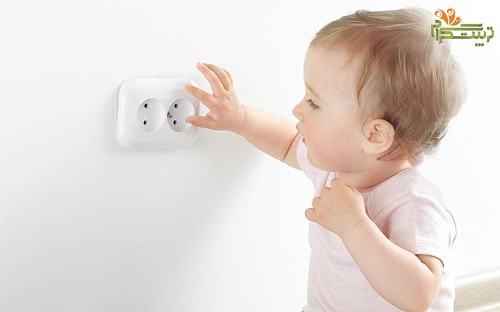 خطر برق گرفتگی برای نوزاد در هفته سوم نه ماهگی